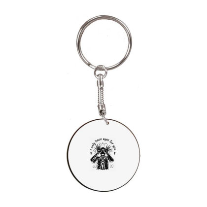 Pan's Movies White Round Keychain Designed By Delicous
