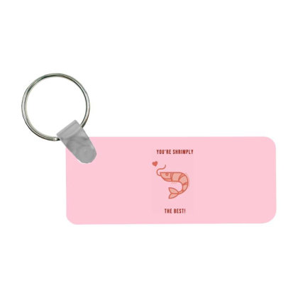 Shrimply The Best Frp Rectangle Keychain Designed By Shannen Doherty