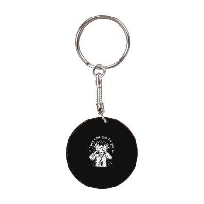 Pan's Labyrinth White Round Keychain Designed By Delicous