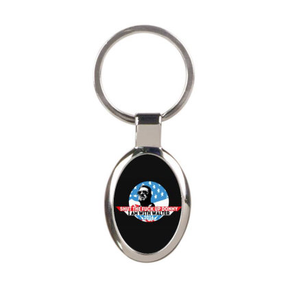 Fuck Trump Oval Keychain Designed By Shannen Doherty