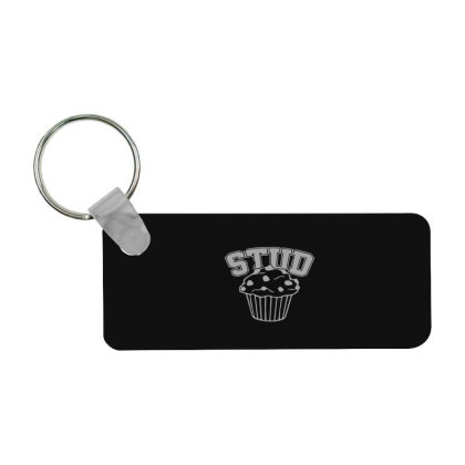 Stud Muffin Frp Rectangle Keychain Designed By Yad1_