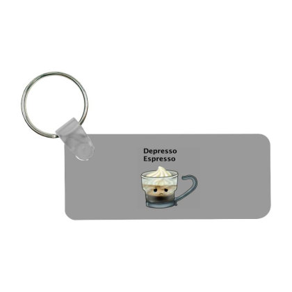 Coffee Frp Rectangle Keychain Designed By Shannen Doherty