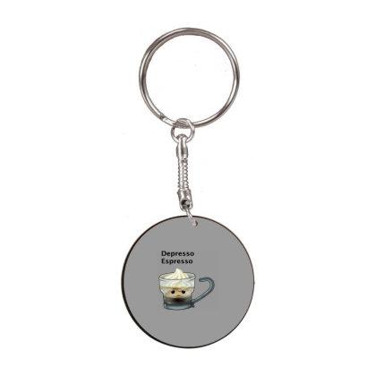 Coffee White Round Keychain Designed By Shannen Doherty