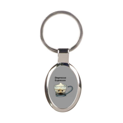 Coffee Oval Keychain Designed By Shannen Doherty