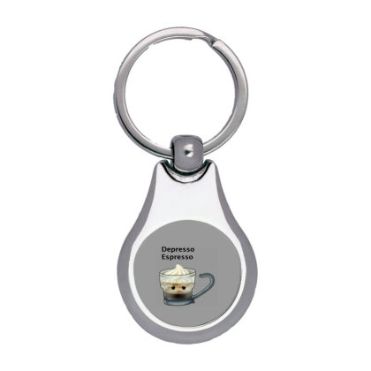 Coffee Silver Pear Keychain Designed By Shannen Doherty