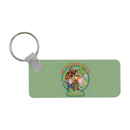 My Imaginary Friends Frp Rectangle Keychain Designed By Campbell