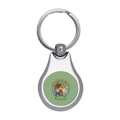 My Imaginary Friends Silver Pear Keychain Designed By Campbell