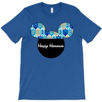 Hanukkah Dreidal Ears T-shirt Designed By Tshirt Time