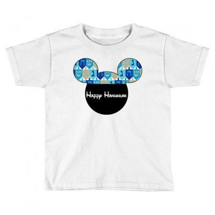 Hanukkah Dreidal Ears Toddler T-shirt Designed By Tshirt Time