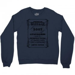 premium vintage 2007 Crewneck Sweatshirt | Artistshot