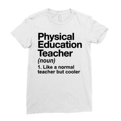 Education Teacher Ladies Fitted T-shirt Designed By Delicous