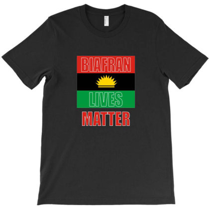 Biafran Lives Matter T-shirt Designed By Honeysuckle