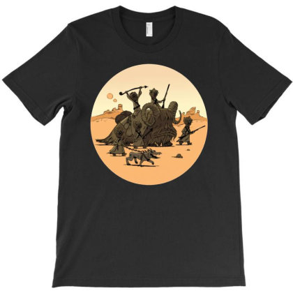 Tusken Raiders T-shirt Designed By Klepon