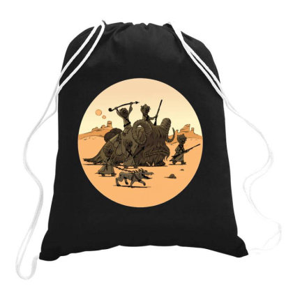 Tusken Raiders Drawstring Bags Designed By Klepon