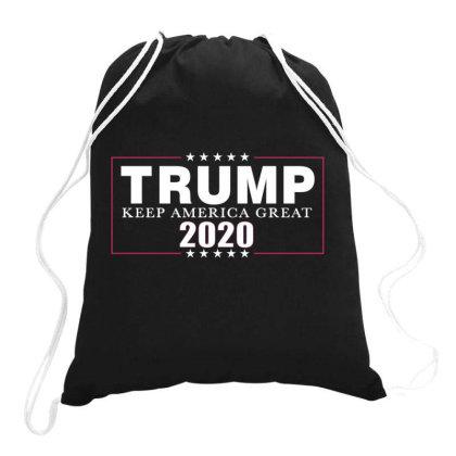 Trump 2020 Keep America Great Drawstring Bags Designed By Kakashop