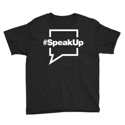 Speak Up Youth Tee Designed By Fahmifutri