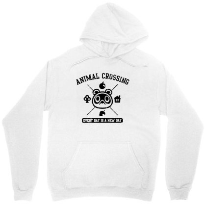 Animal Crossing Everyday Is A New Day Unisex Hoodie Designed By Andress
