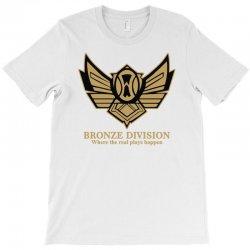 bronze division T-Shirt   Artistshot