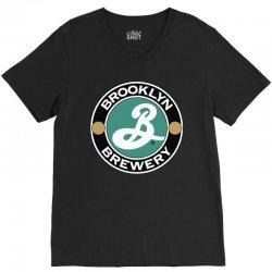 brooklyn brewery V-Neck Tee   Artistshot
