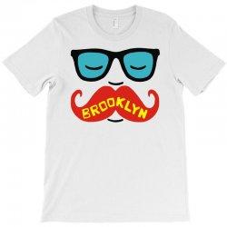 brooklyn moustache T-Shirt | Artistshot