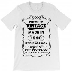vintage legend was born 1990 T-Shirt | Artistshot