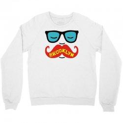 brooklyn moustache Crewneck Sweatshirt | Artistshot