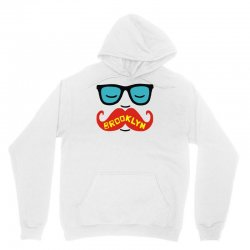 brooklyn moustache Unisex Hoodie | Artistshot