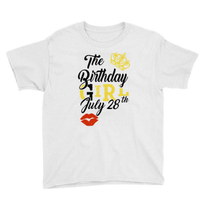 Birthday Party Youth Tee Designed By Delicous