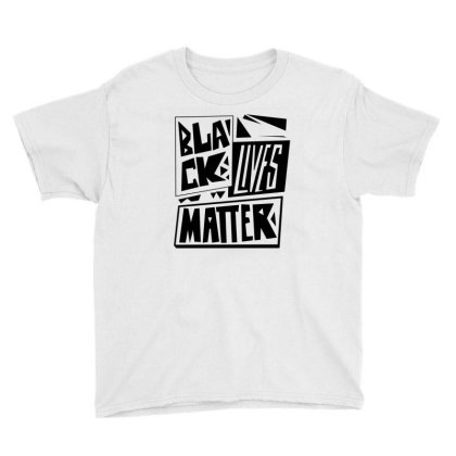 Black Lives Matter Pride (black) Youth Tee Designed By Wahidin77