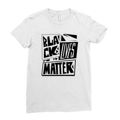 Black Lives Matter Pride (black) Ladies Fitted T-shirt Designed By Wahidin77