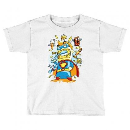 Brush My Cheese Toddler T-shirt Designed By Monstore