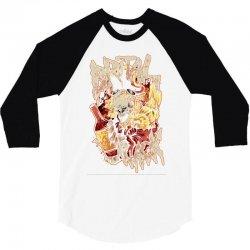 brutal knack   pirates 3/4 Sleeve Shirt   Artistshot
