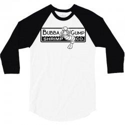 bubba gump shrimp co 3/4 Sleeve Shirt | Artistshot