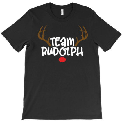 Team Rudolf For Dark T-shirt Designed By Sengul