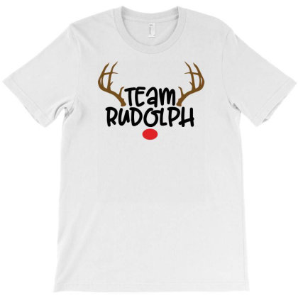 Team Rudolf For Light T-shirt Designed By Sengul