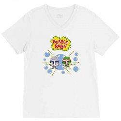 bubble boba V-Neck Tee | Artistshot