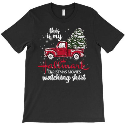 This Is My Hallmark Christmas Movies Watching Shirt T-shirt Designed By Sengul