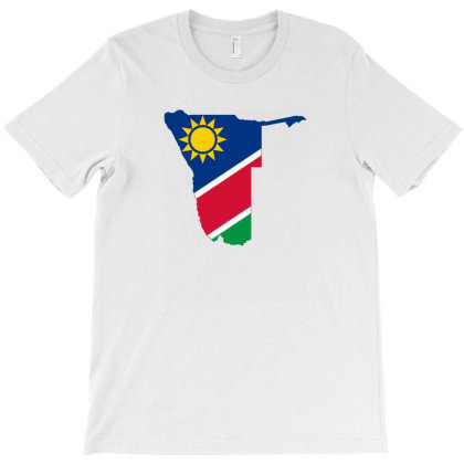 Namibia Flag T-shirt Designed By Sengul