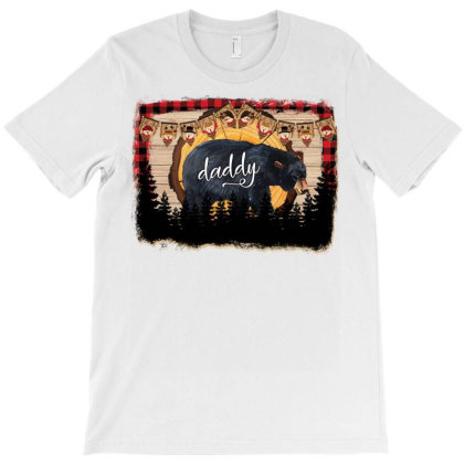 Christmas Daddy Bear 2 T-shirt Designed By Badaudesign