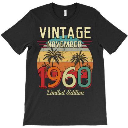Vintage November 1960 Limited Edition T-shirt Designed By Badaudesign
