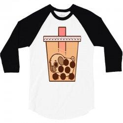 bubble tea 3/4 Sleeve Shirt | Artistshot