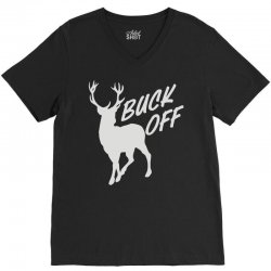 buck off V-Neck Tee | Artistshot