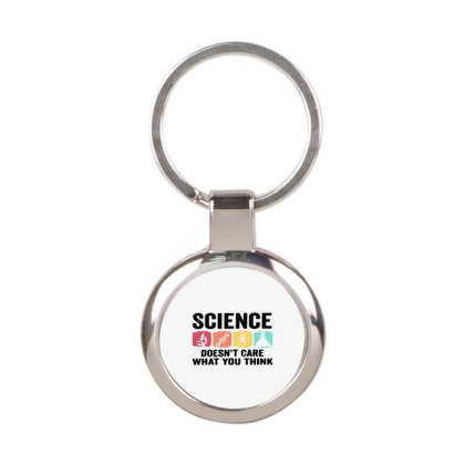 Science Funny Round Keychain Designed By Delicous