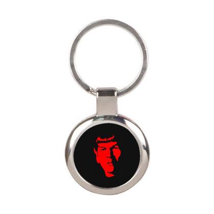 Spock Star Trek 1 Round Keychain Designed By Fanshirt