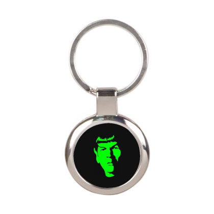 Spock Star Trek 3 Round Keychain Designed By Fanshirt