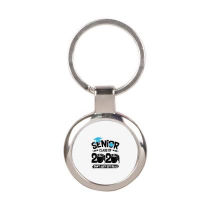Senior 2020 Round Keychain Designed By Delicous