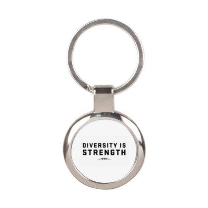 Diversity, Strength Round Keychain Designed By Ari Restanto
