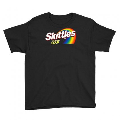 Skittles Sour Candy Youth Tee