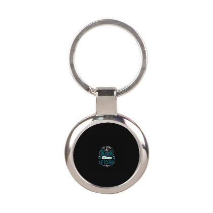 So Long And Thanks Round Keychain Designed By Jamalia Farh