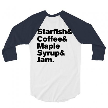 Starfish Coffee Prince T Shirts 3/4 Sleeve Shirt Designed By Rardesign